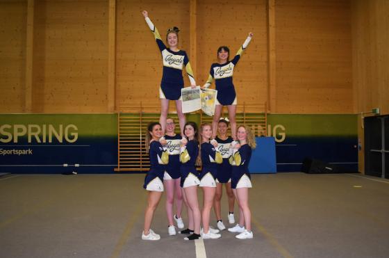 High hopes for UEA Angels Cheer Stunt
