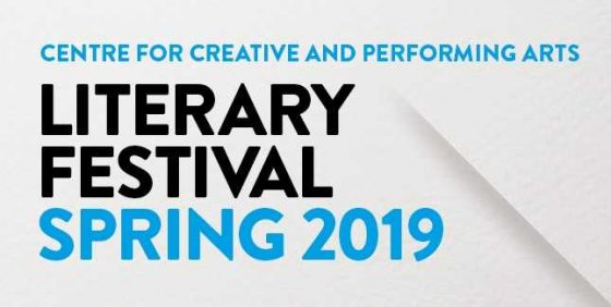 Marlon James at the 2019 Spring Literary Festival