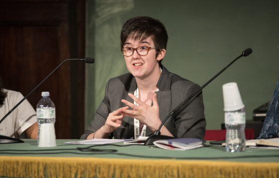 Journalist Lyra McKee killed during rioting in Derry