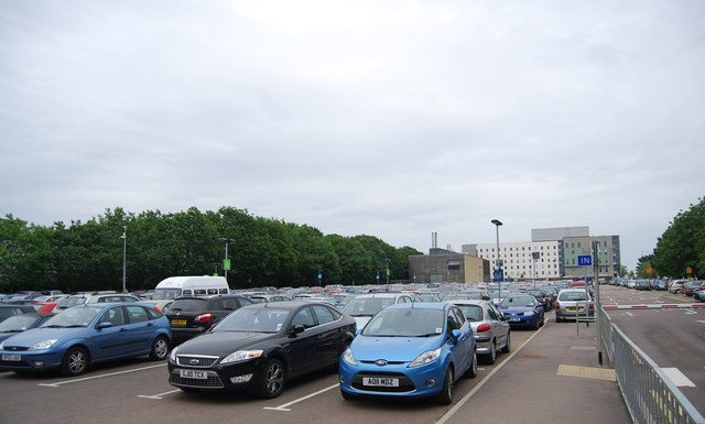 UEA car park main