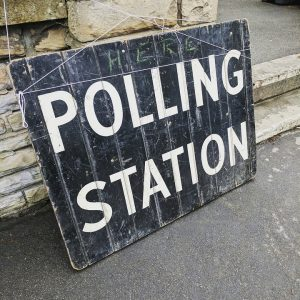 Polling station elected MEP