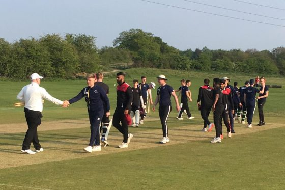 Cricket secure Derby Day point