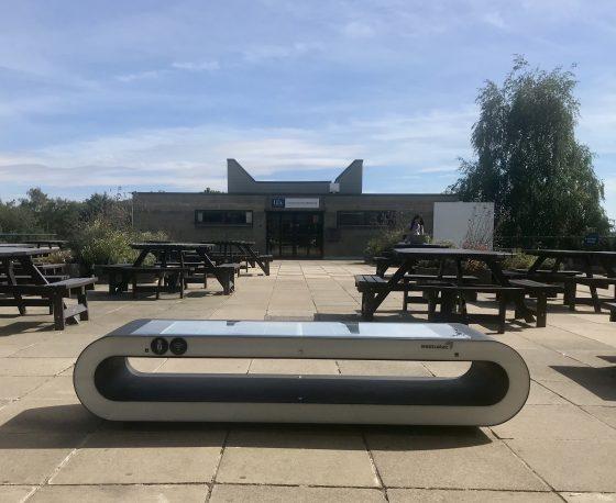 UEA installs new solar bench on campus