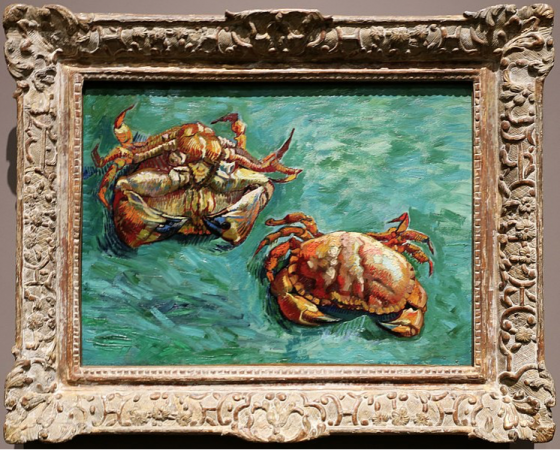 Favourite Art- Two Crabs (1889) by Vincent Van Gogh