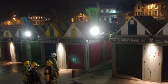 Firefighters called to Norwich Market