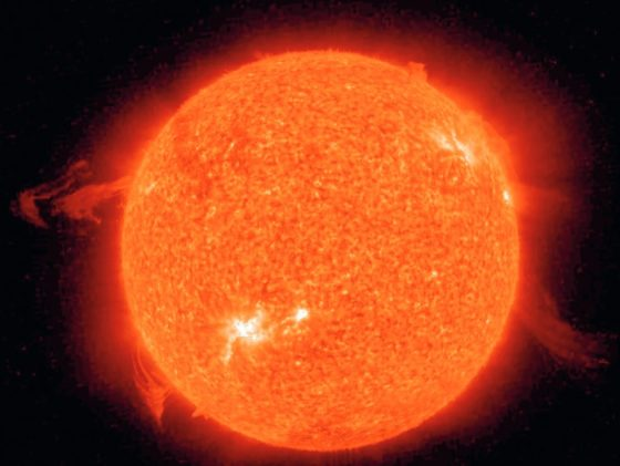 Research reveals a new side of the sun
