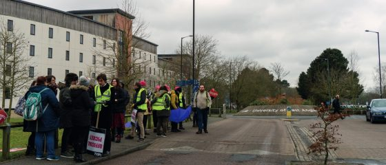 Students petition for strike compensation