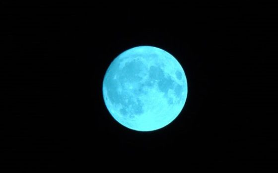 Once in a blue moon…