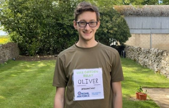 Students run 10,200km in their gardens to raise money for the NHS