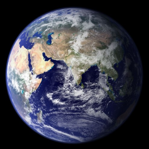 The first digital Earth Day