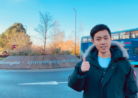 UEA student distributes thousands of face masks in Norwich