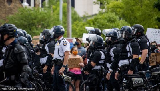 Footage of police brutality against protesters in the United States emerges