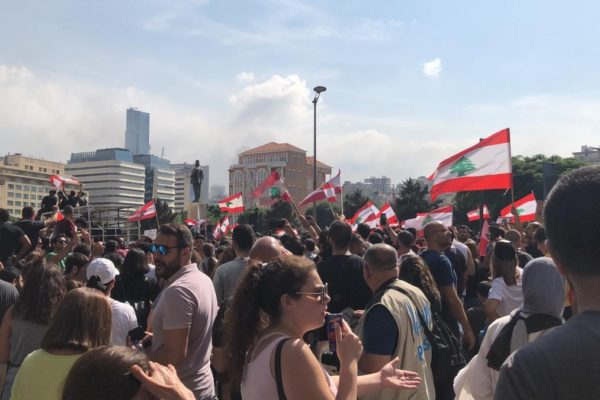 Anti-government protests erupt in Lebanon