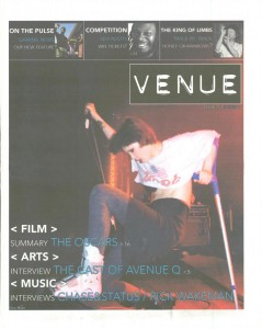 Venue - Issue 253 - 01/03/2011