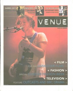 Venue - Issue 254 - 15/03/2011