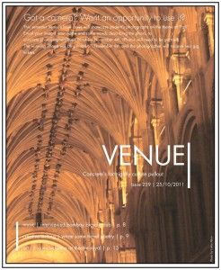 Venue - Issue 259 - 25/10/2011