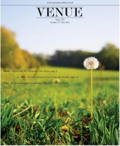 Venue - Issue 270 - 15/05/2012